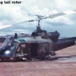 124 lost the tail rotor after rearming