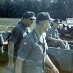 Gen. Westmoreland 1967 after battle of Loc Ninh