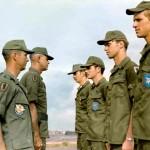 Maj. Addy, Col. Todd, Paul Zabriskie, Steve Lawrence, Olesko, Parker