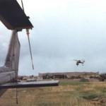 Sky crane could blow down the hangar