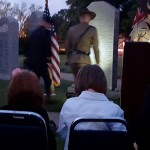 Laying Wreath COL David Francis LTC Barton